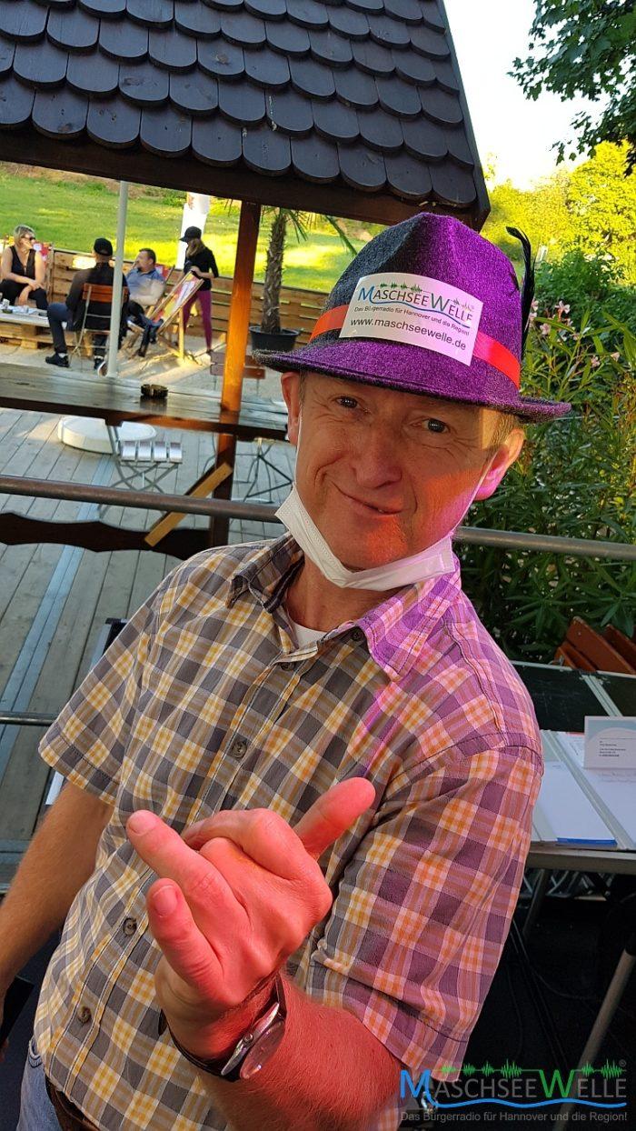 MaschseeWelle Moderator Gerald Kaiser