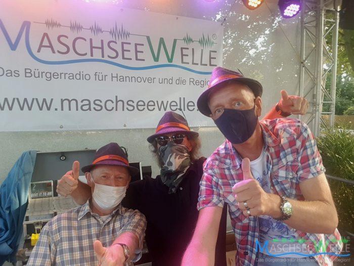 Unsere Moderatoren Gerald Kaiser, Dirk Kahmann und Peer Wagener (v.l.n.r) ...